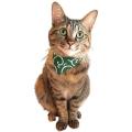 バンダナ風手作り猫首輪