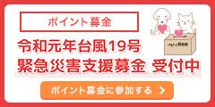 令和元年台風19号緊急災害支援募金