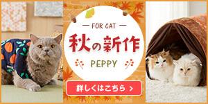 秋の新商品 FOR CATS