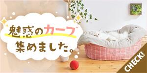 【猫ベッド特集】-愛猫が喜ぶ魅惑のカーブベッドを集めました。