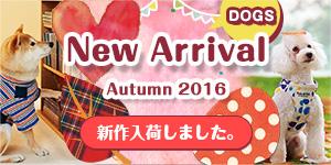 秋冬新商品 2016 DOGS