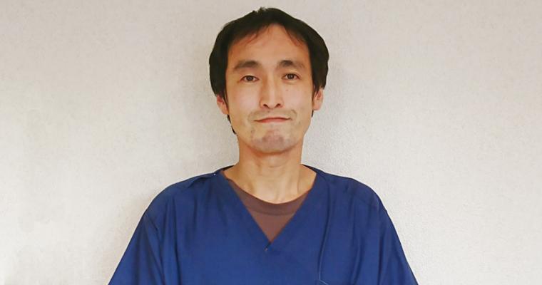 みゅう動物病院副院長栗崎先生