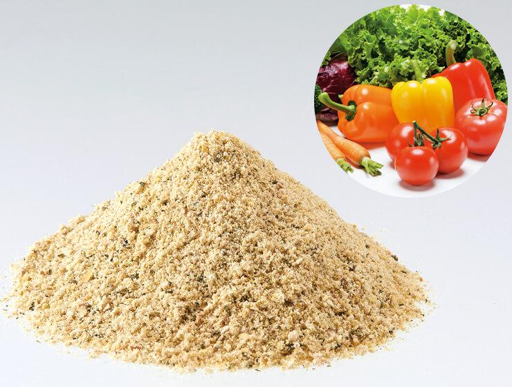 穀物や野菜や果物やハーブの酵素を配合