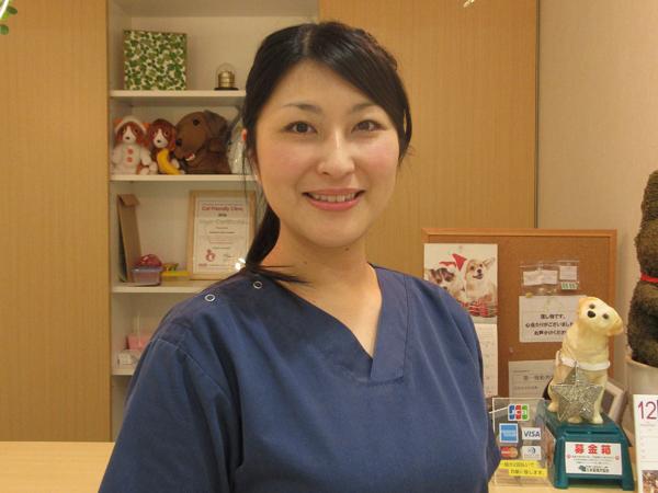 獣医師の神吉紀子先生