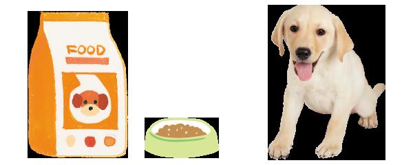 子犬のライフステージに合った栄養バランスの総合栄養食とは?