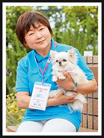飯田 良枝さん&モエちゃん(ロングコートチワワ / 6才)