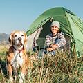 犬と一緒にキャンプ場に行く時の注意点やおすすめの持ち物は?